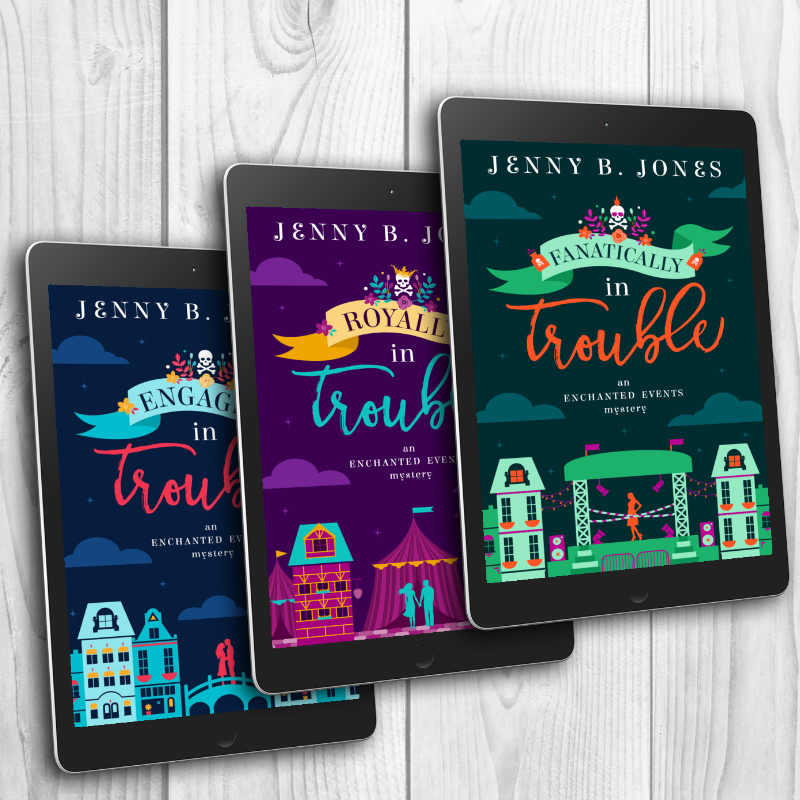 Engaged in Trouble Series by Jenny B. Jones
