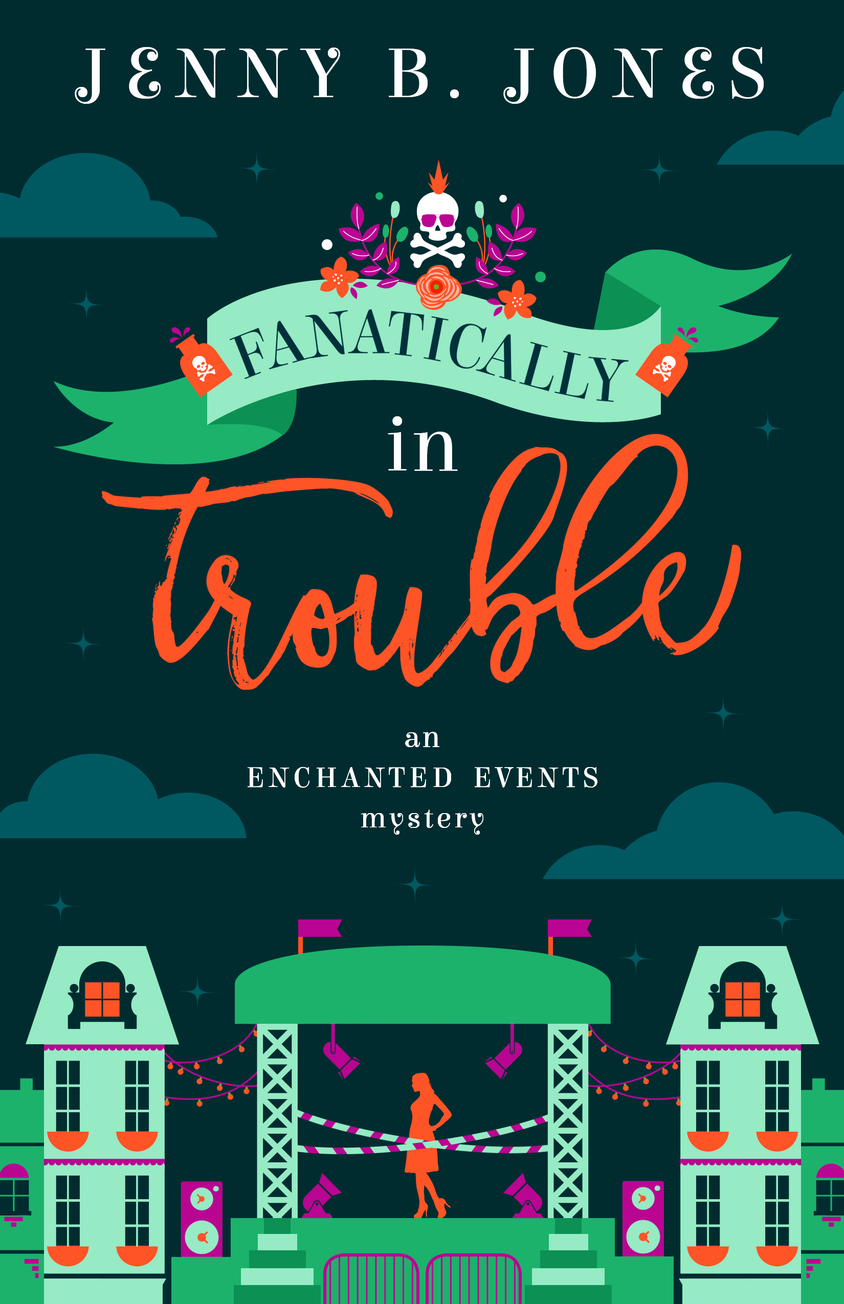 Fanatically In Trouble by Jenny B. Jones